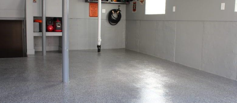 epoxy garage floor installation